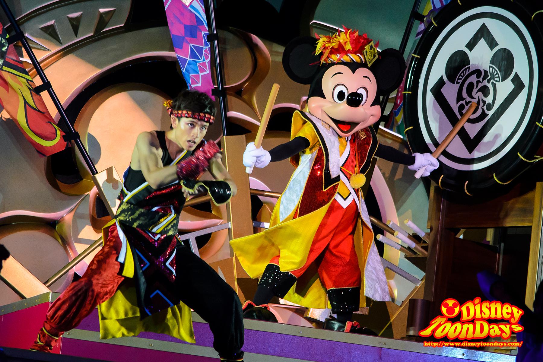 TDL ディズニー夏祭り2013 爽涼鼓舞 ミッキーマウス
