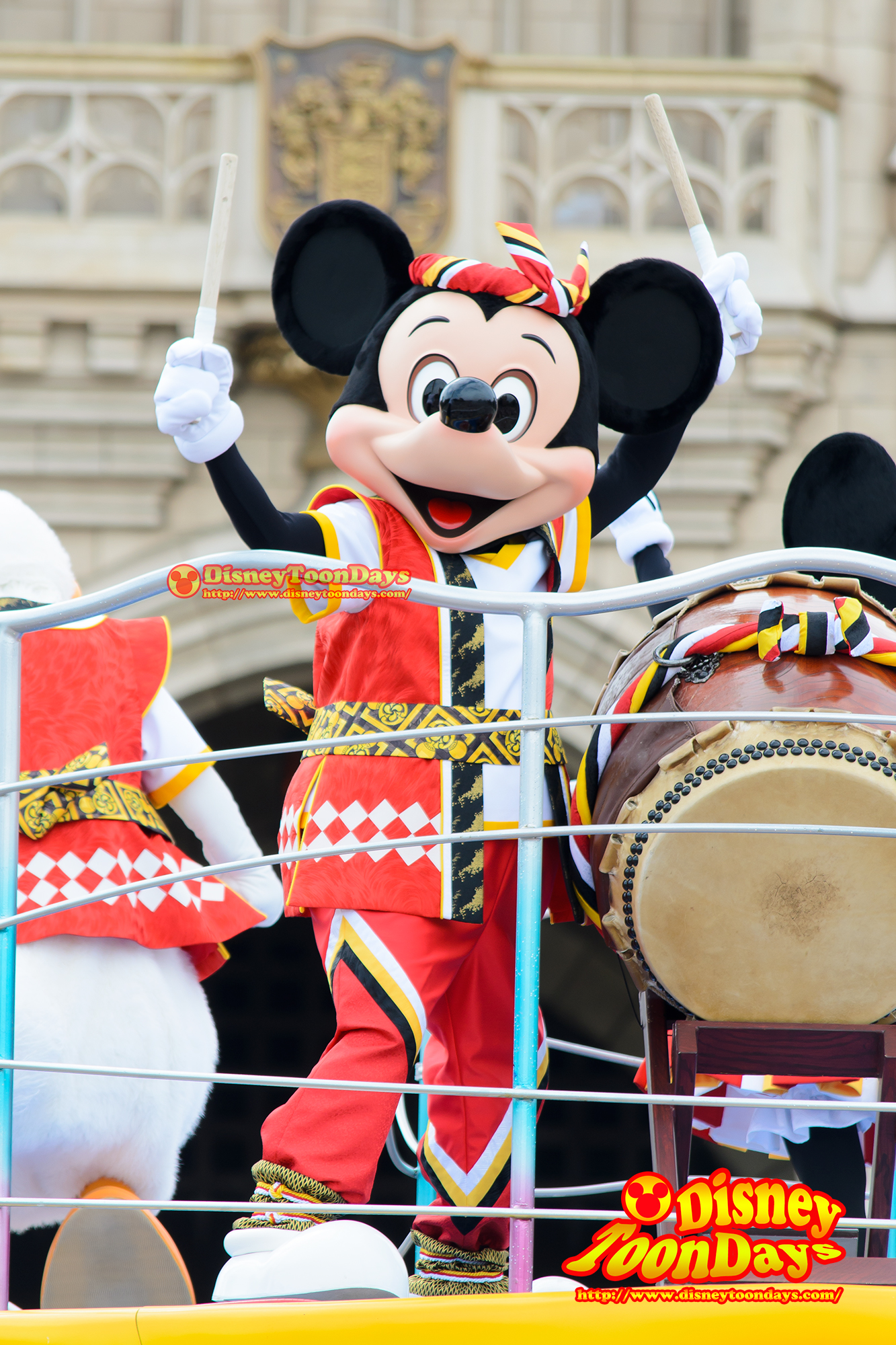 TDL ディズニー夏祭り 2014 おんどこどん ミッキーマウス