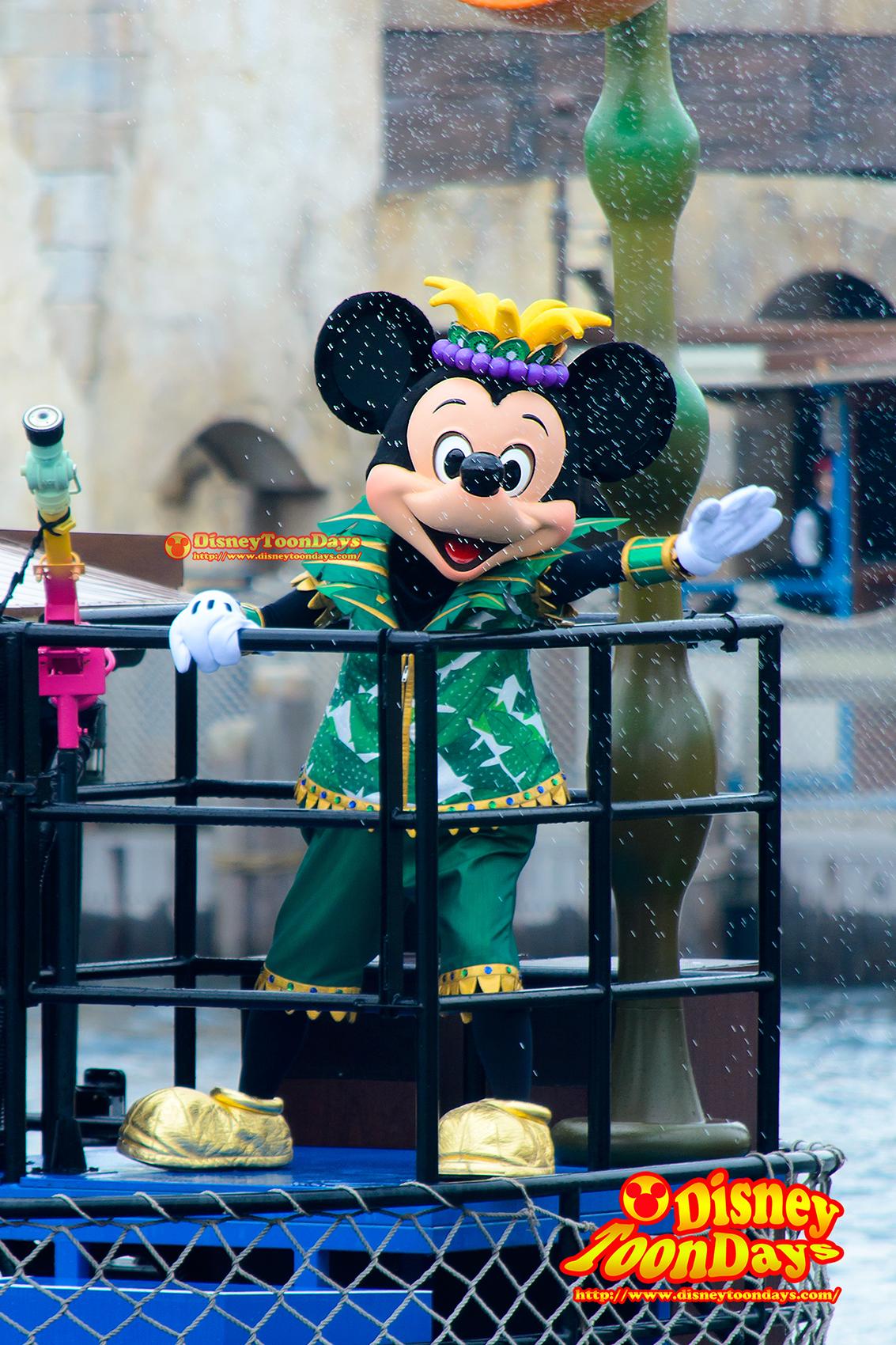 TDS ディズニーサマーフェスティバル 2014 ミニーのトロピカルスプラッシュ ミッキーマウス