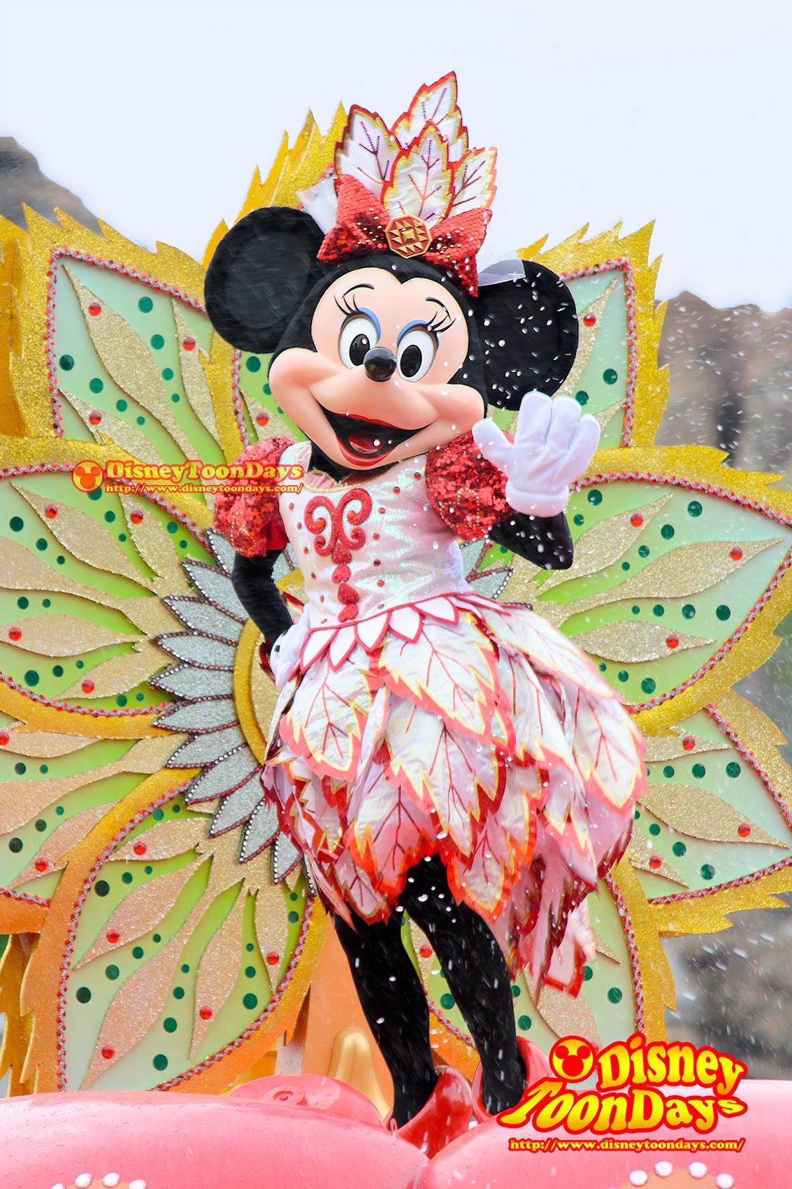 TDS ディズニーサマーフェスティバル 2014 ミニーのトロピカルスプラッシュ ミニーマウス