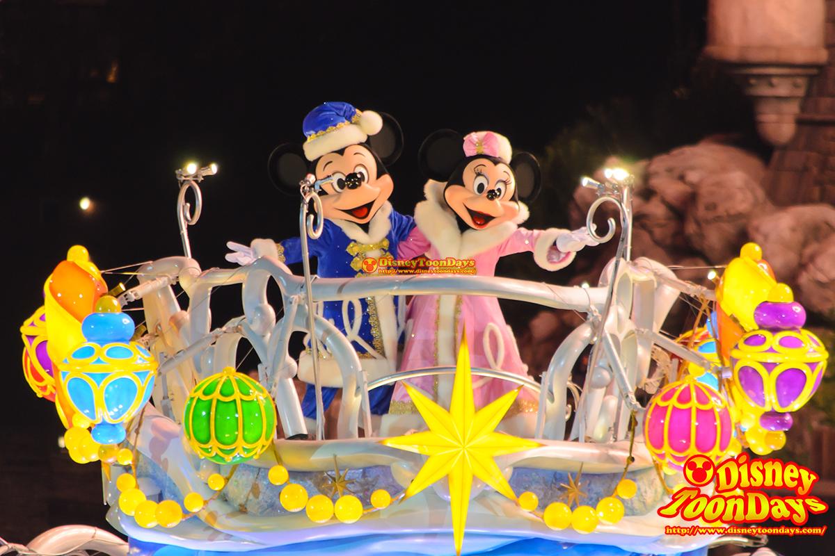 TDS クリスマスウィッシュ 2014 カラーオブクリスマス メディテレーニアンハーバー ミッキーマウス ミニーマウス