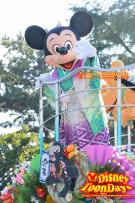 TDL ニューイヤーズグリーティング 2015 ミッキーマウス