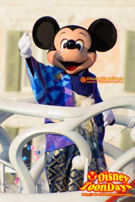 TDS ニューイヤーズグリーティング 2015 ミッキーマウス
