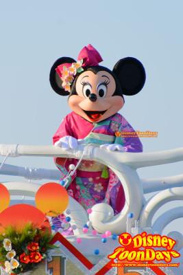TDS ニューイヤーズグリーティング 2015 ミニーマウス